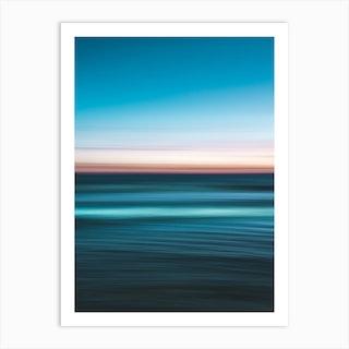 Vivid Ocean Art Print