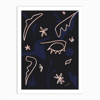 Night Dreams Art Print