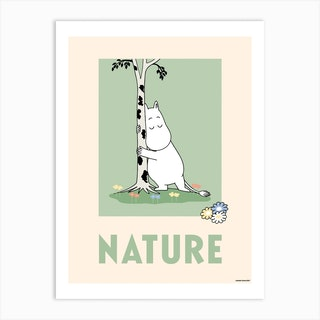 The Moomin Collection Nature Art Print