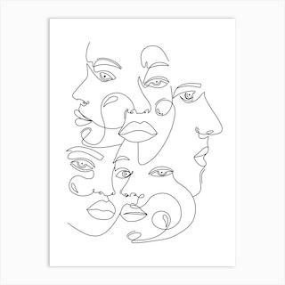 The Secret Society Art Print
