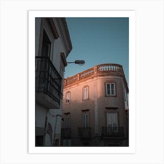 Light Love In Portugal Art Print