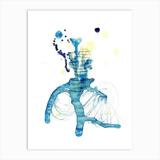 Retinolman Or Edward Scissorhands Art Print