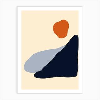 Cornwall Art Print