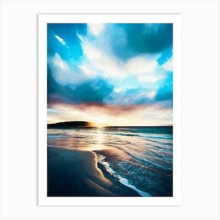 Southern Ocean Beach Art Print