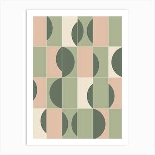 Gardentiles 02 Art Print