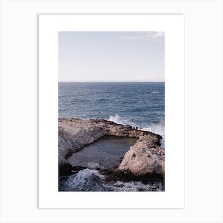 Apulia Pool Art Print