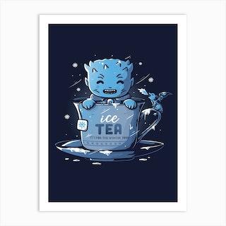 Ice Tea Art Print