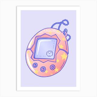 Tamagotchi Memories Art Print