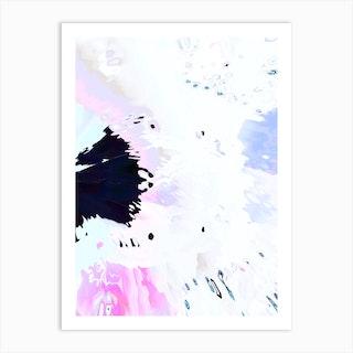 Candy Splash 1 Art Print