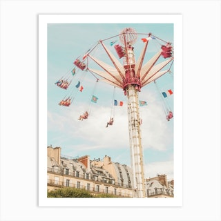 Paris Swings Art Print