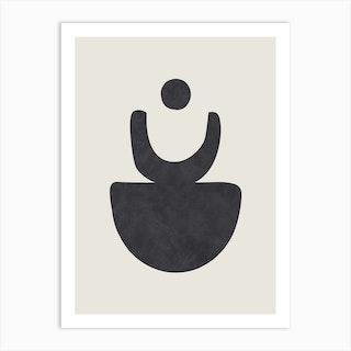 Abstract Circles Six Art Print