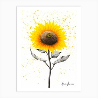 Sunflower Celebration Art Print