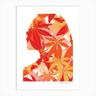Autumn Charm Art Print