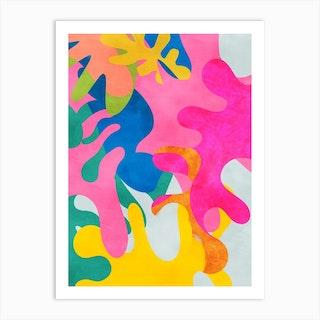 Minimal Matisse 3 Art Print