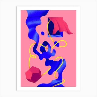 Abstract Surrealism 2 Art Print