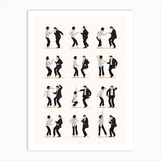 Pulp Fiction 2 Art Print