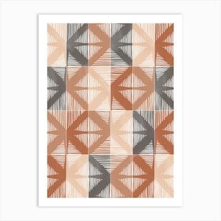 Mudcloth Tiles 01 Art Print