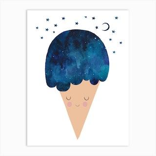 Sleep Well Art Print