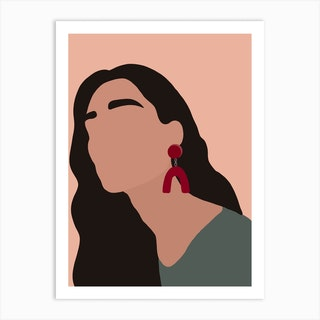 Cherry Pop Art Print
