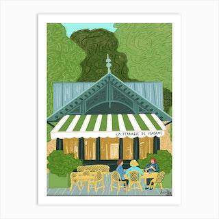 Jardin Du Luxembourg A Paris Art Print