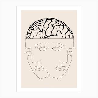 Dual Consciousness Art Print