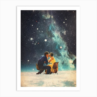 Ill Take You To The Stars For A Second Date Art Print