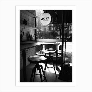 London Coffee Shop Art Print