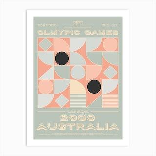 Australia 2000 Olympic Art Print
