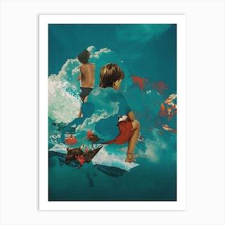 Kidcloud Art Print