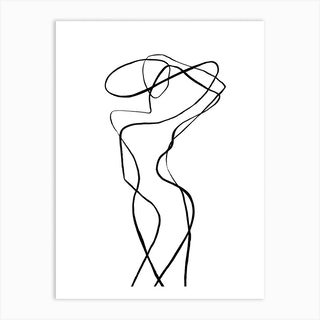 Buonasera Art Print