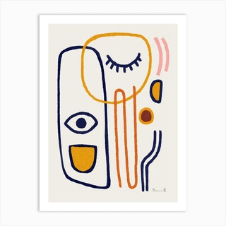 Feel Good Art Print