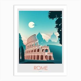 Rome Italy  Art Print