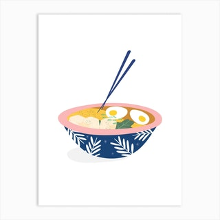 Ramen Bowl Art Print