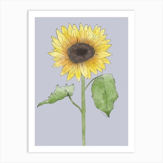 Its A Sunflower Kind Of Day Art Print