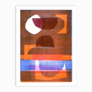 Abstract Composition 4 Art Print