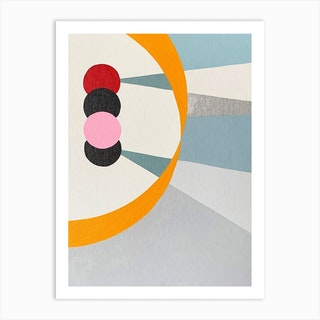 Alannahs Orbit Art Print