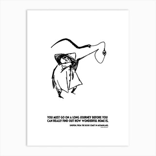 The Moomin Drawings Collection Comet In Moomiland Art Print