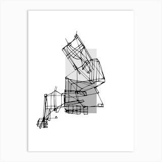 Grey Scales Art Print