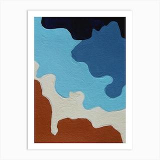 Le Lagon Bleu Art Print