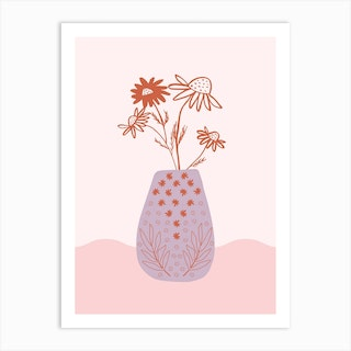 Camomille Art Print