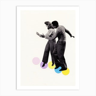 Dance Steps Art Print