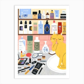 Shelfie Art Print