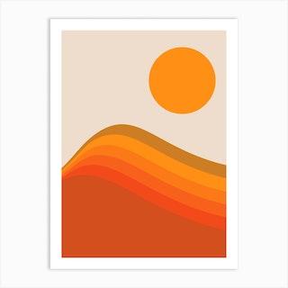 Harvest Wave Art Print