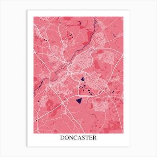 Doncaster Pink Purple Art Print