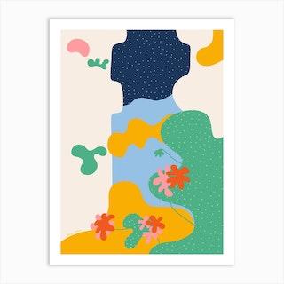 The Med Art Print