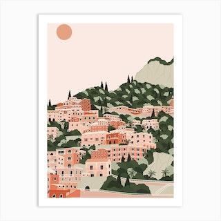 Positano Print Art Print