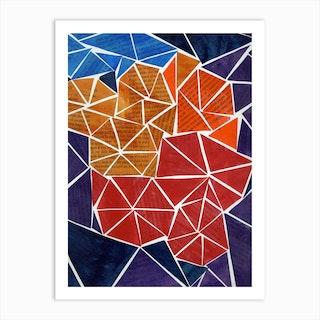 Marigold Mayhem Art Print