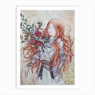 Bless By Sword Art Print