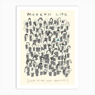 Modern Life Art Print