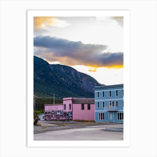 Yukon General Store Art Print